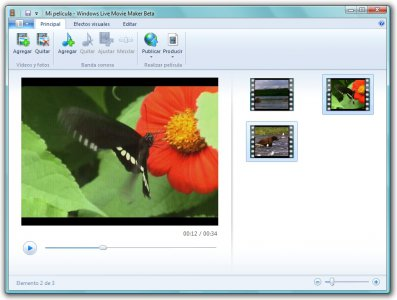 Descargar Movie Maker para Windows 7 Gratis